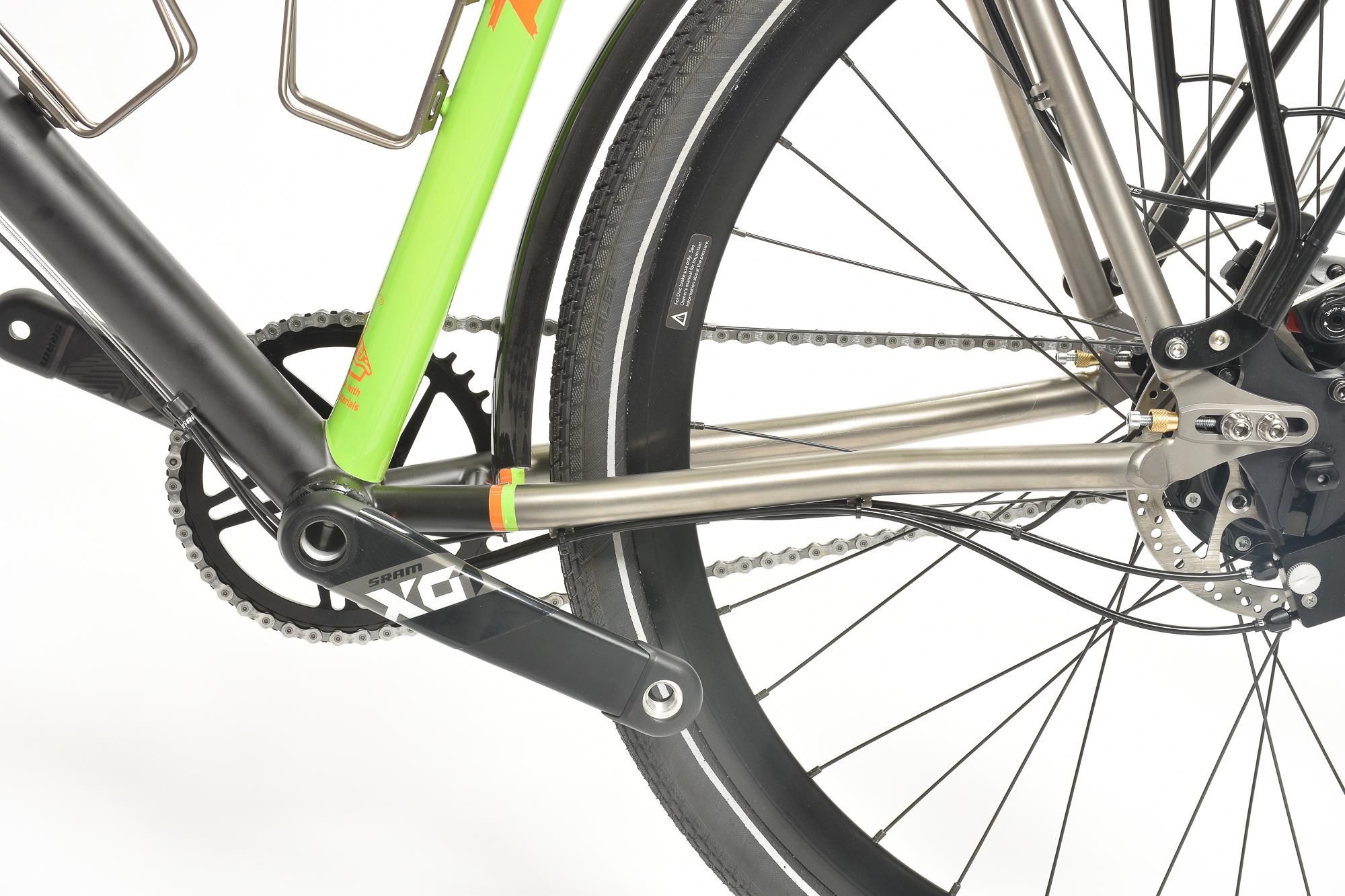 custom touring bicycle